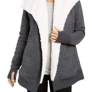 Ideology Womans Fleece-Lined Wrap Heather